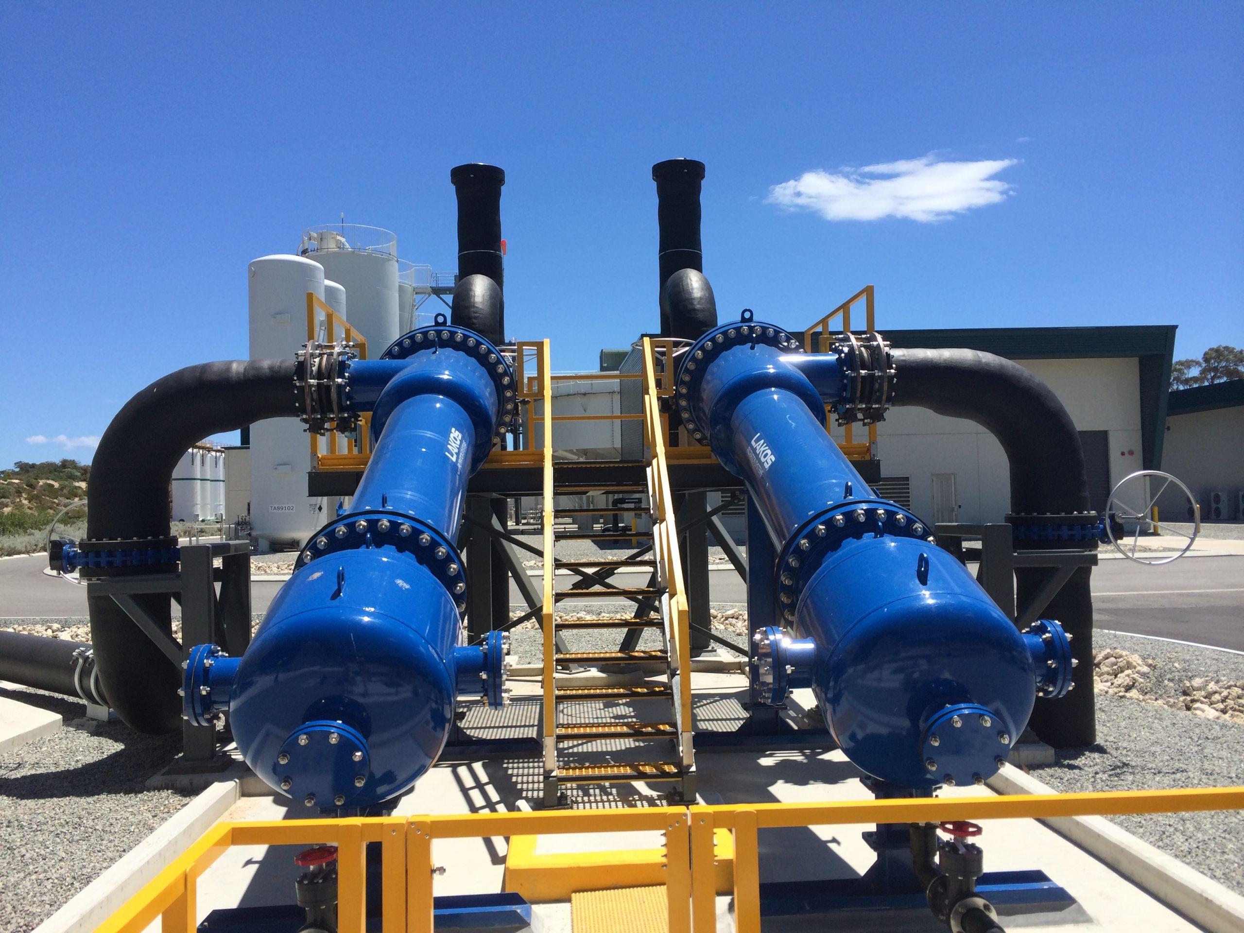 Sea water desalination plant Perth WA