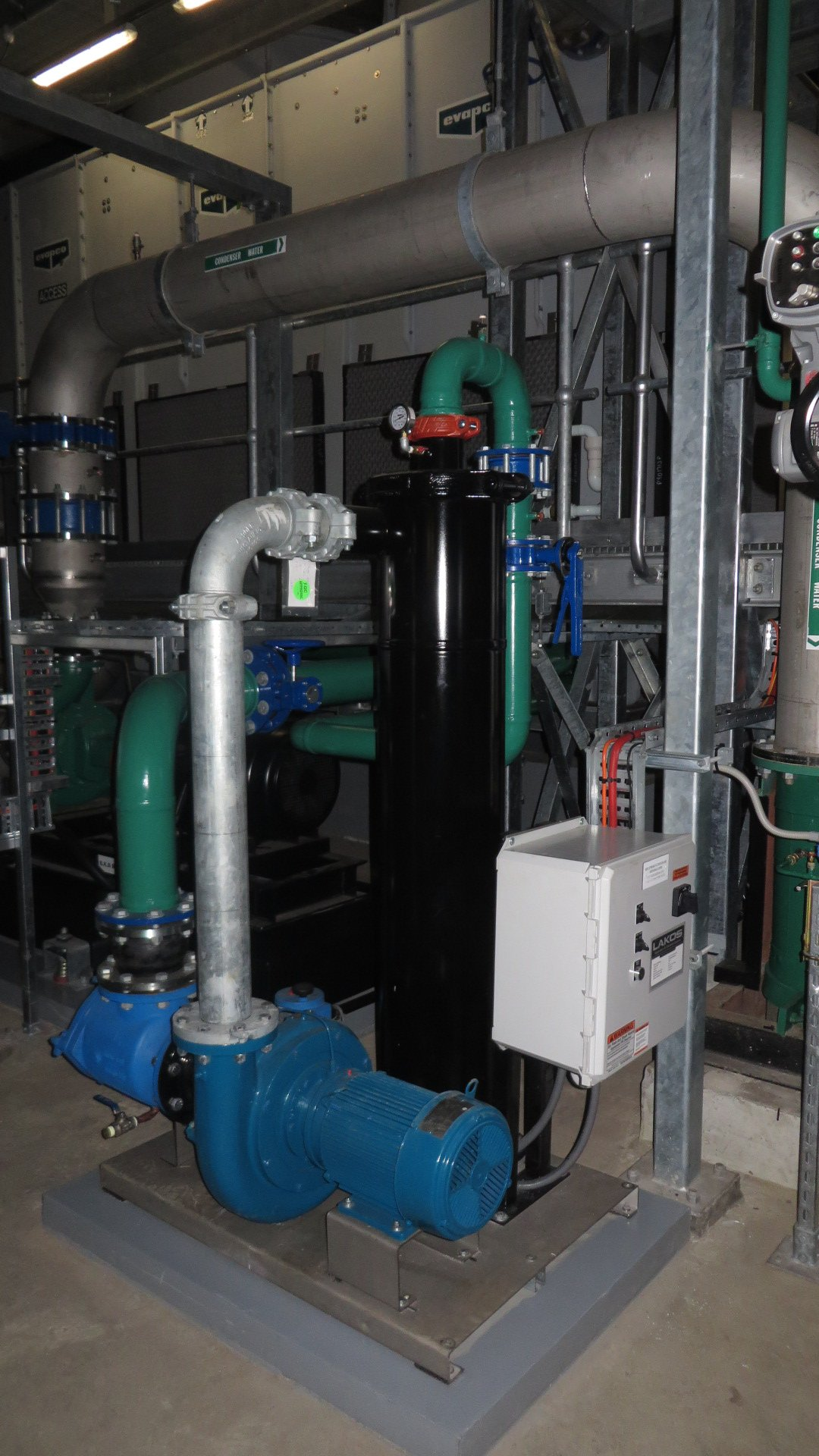 Telstra Data Centre Cooling Tower Filtration