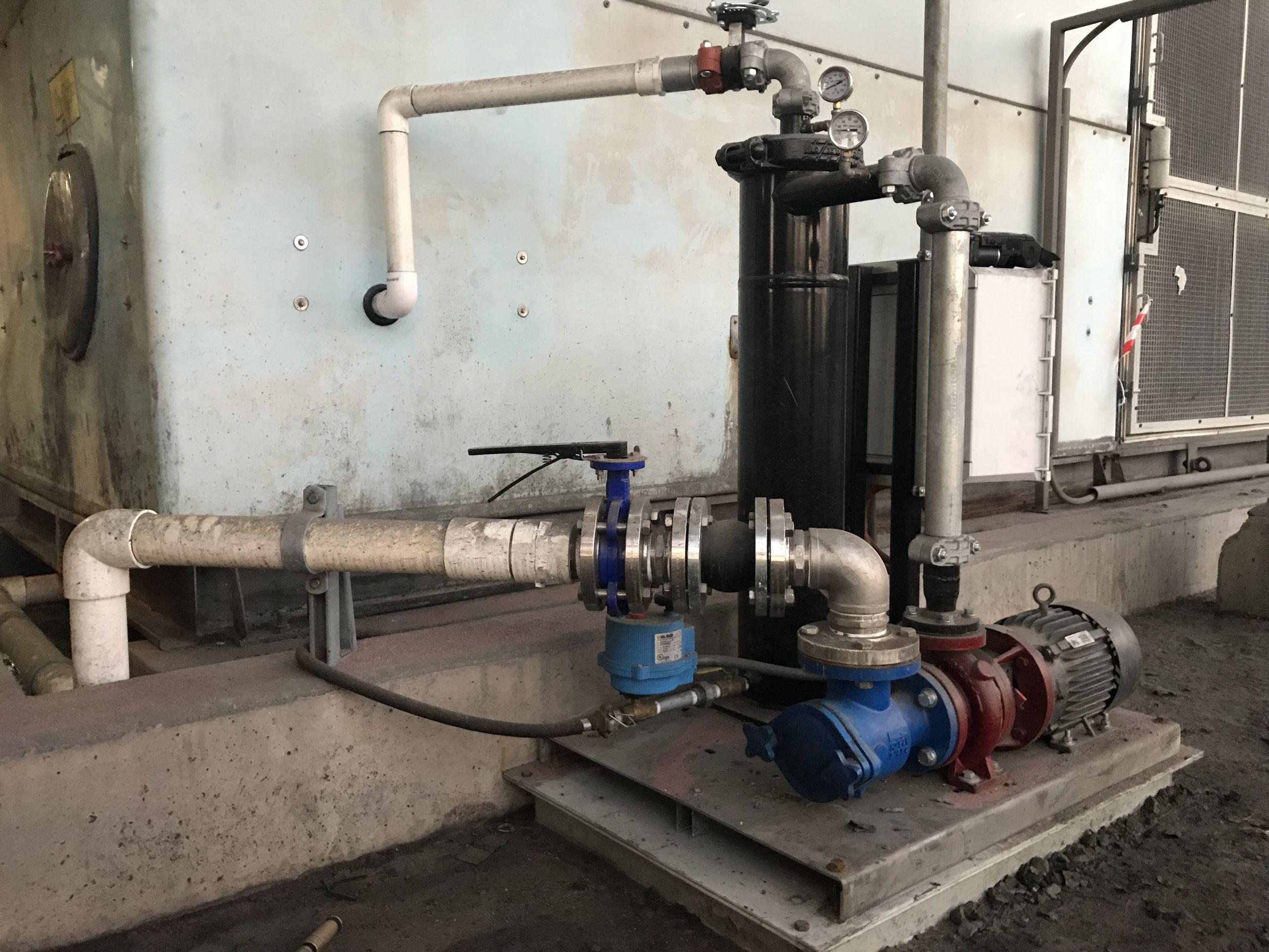 Glencore Ernest Henry Mine Cooling Water Filtration